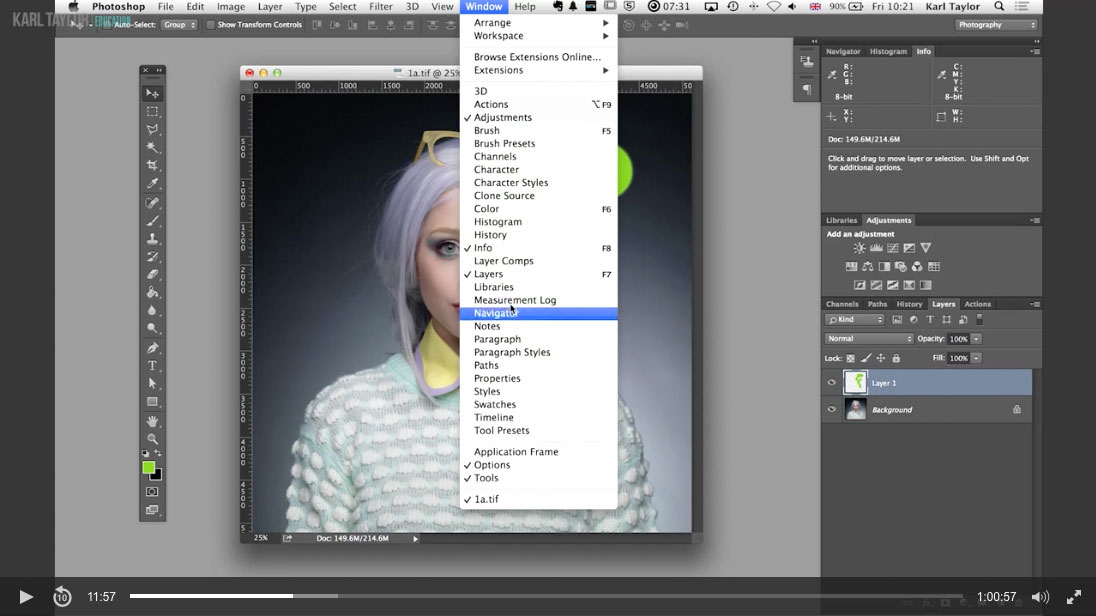 04. Photoshop interface and tools