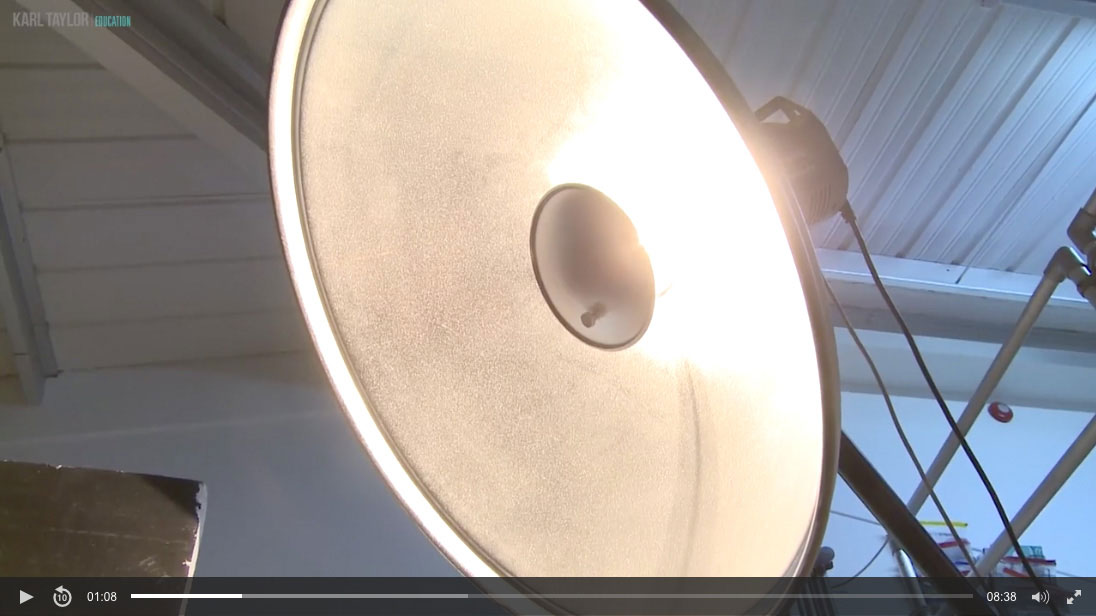 06. Master Beauty Dish Lighting