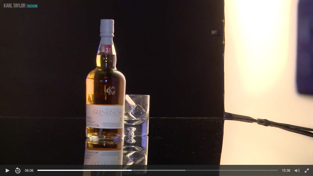 06. Whisky product shoot