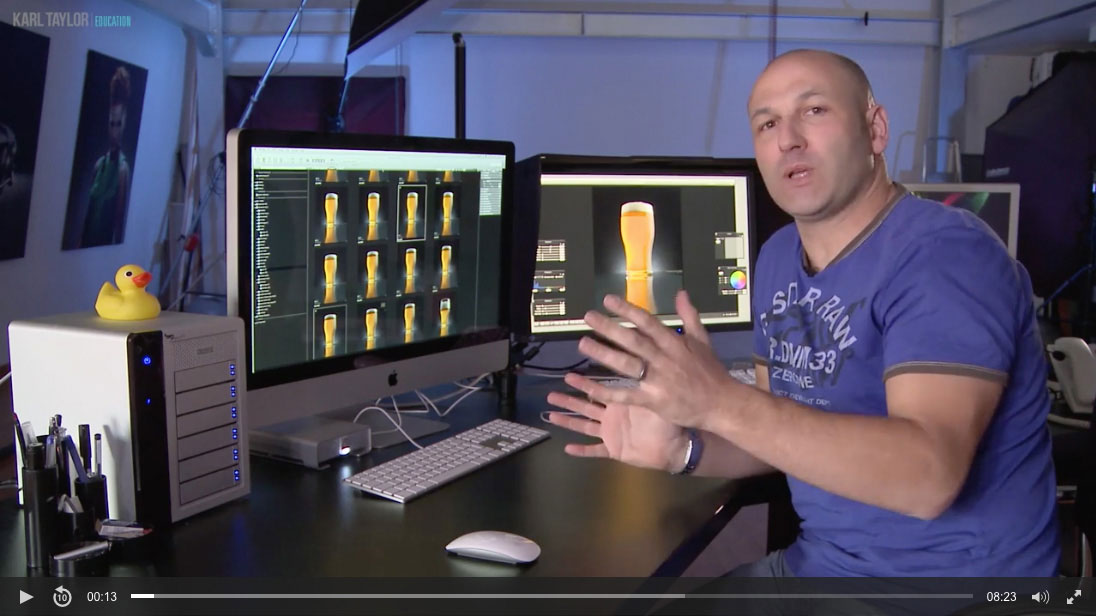 33. The perfect pint retouching