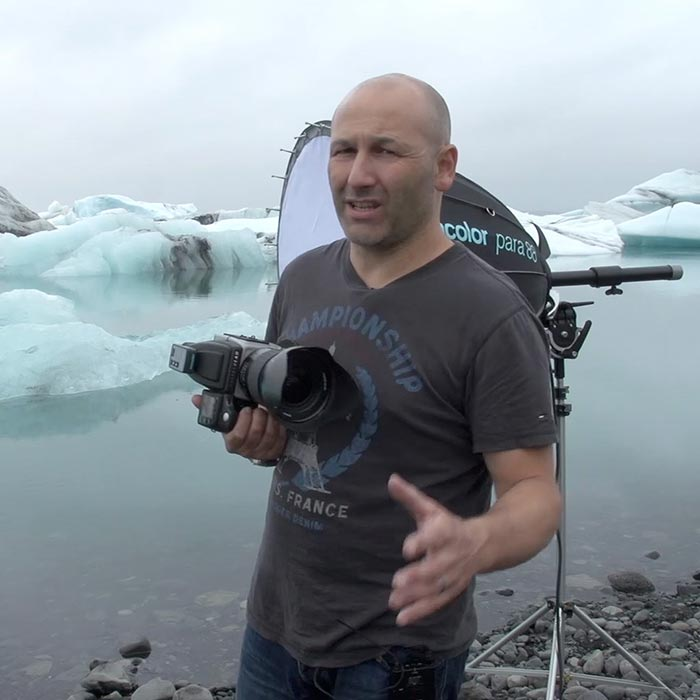 Ice lagoon shoot