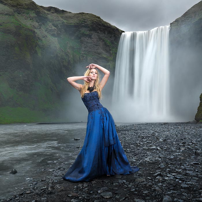 Skogafoss Waterfall shoot