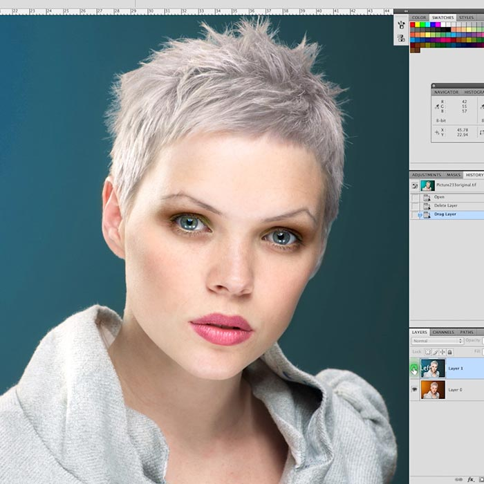 09. Beauty retouch process