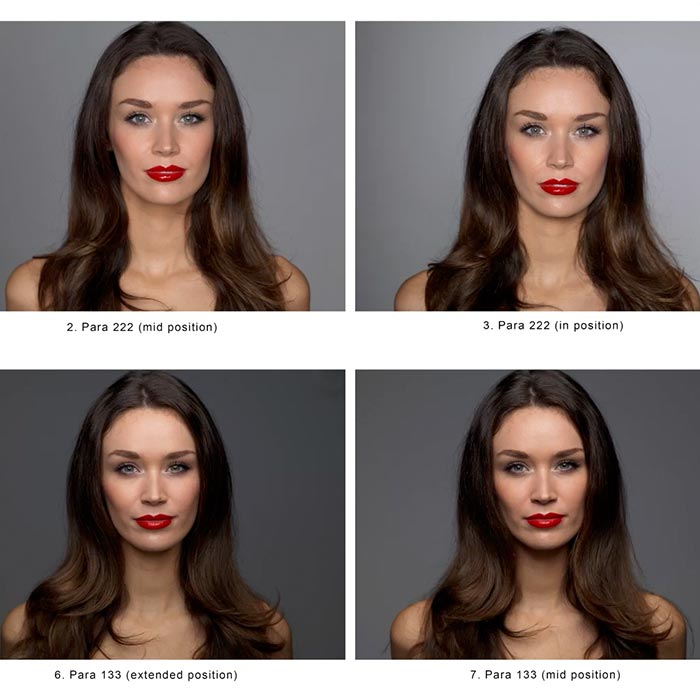 Beauty lighting comparison