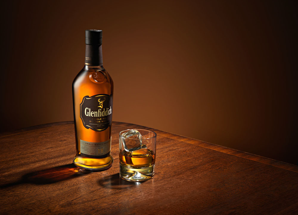 Whisky product photo by Karl Taylor