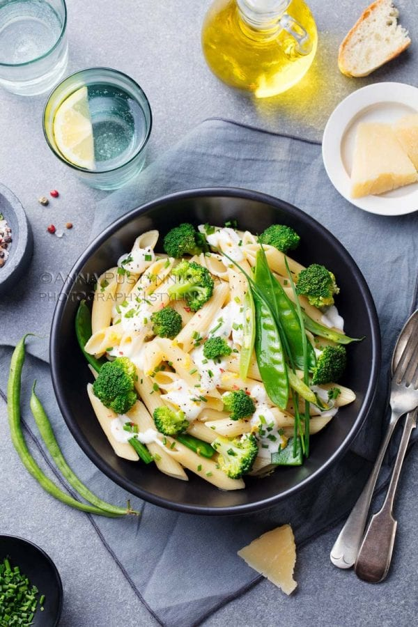 Food Photography Pasta Dish
