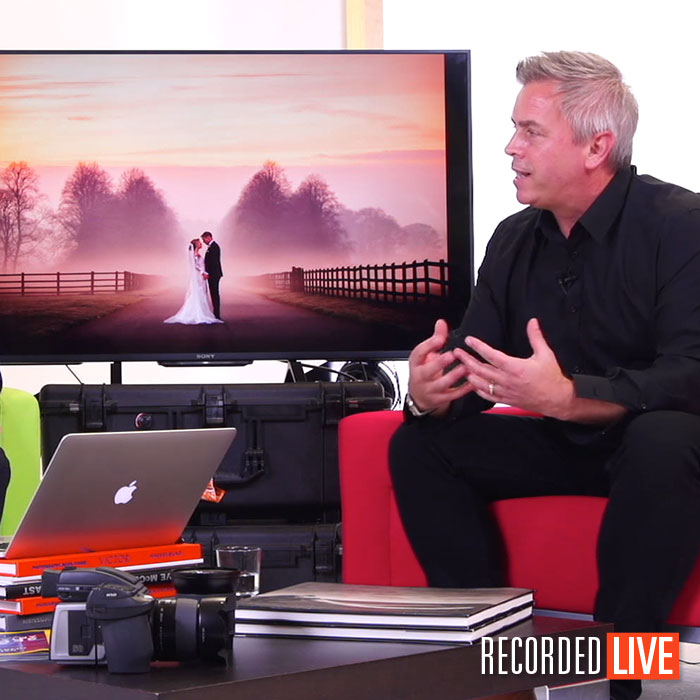 Live Talk Show – Wedding Photographer David Stanbury