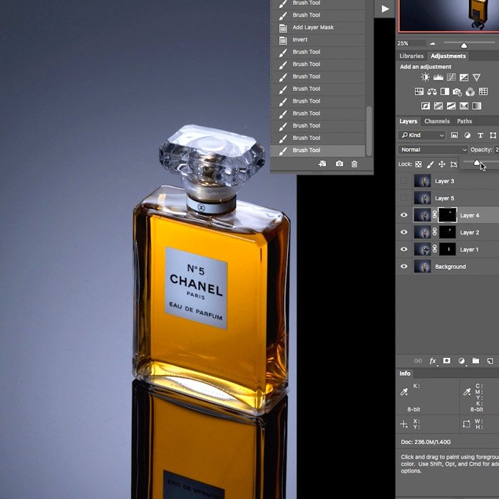 03. Perfume Product Shoot Post Production