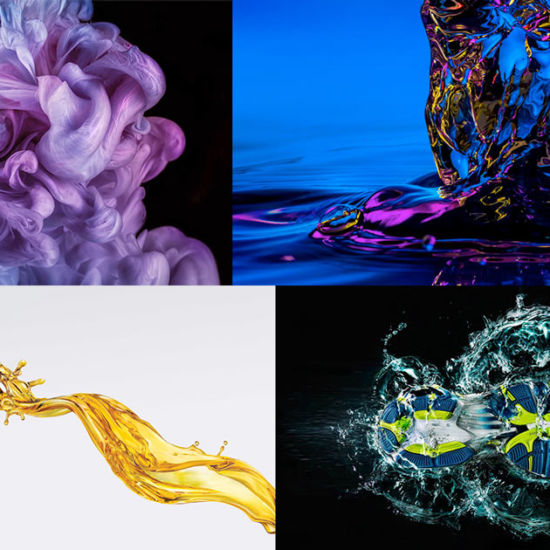 Splash images by David Lund