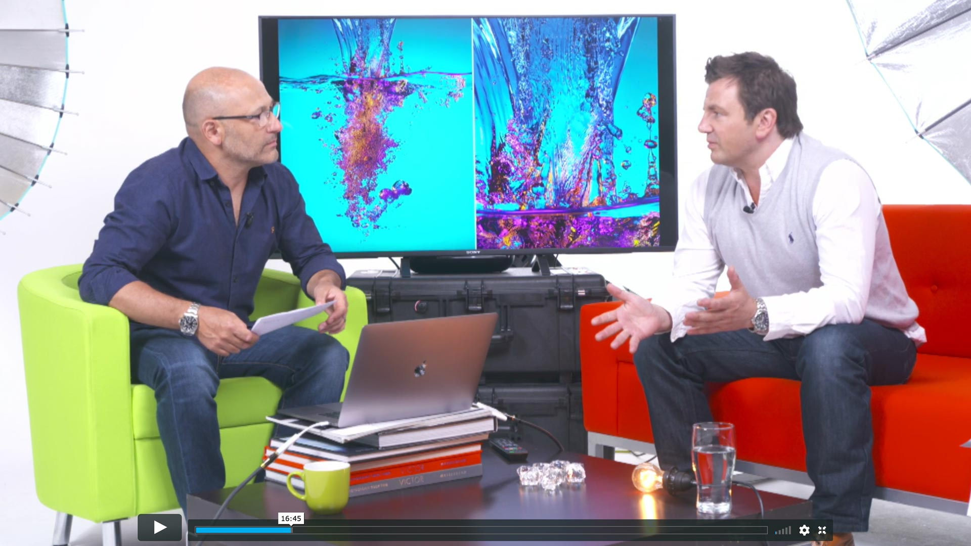 Live Talk Show – Product & Liquid Photographer David Lund