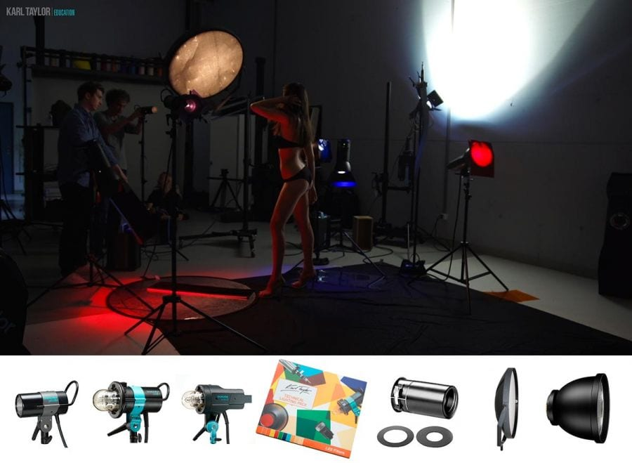 Lighting equipment for fashion photography