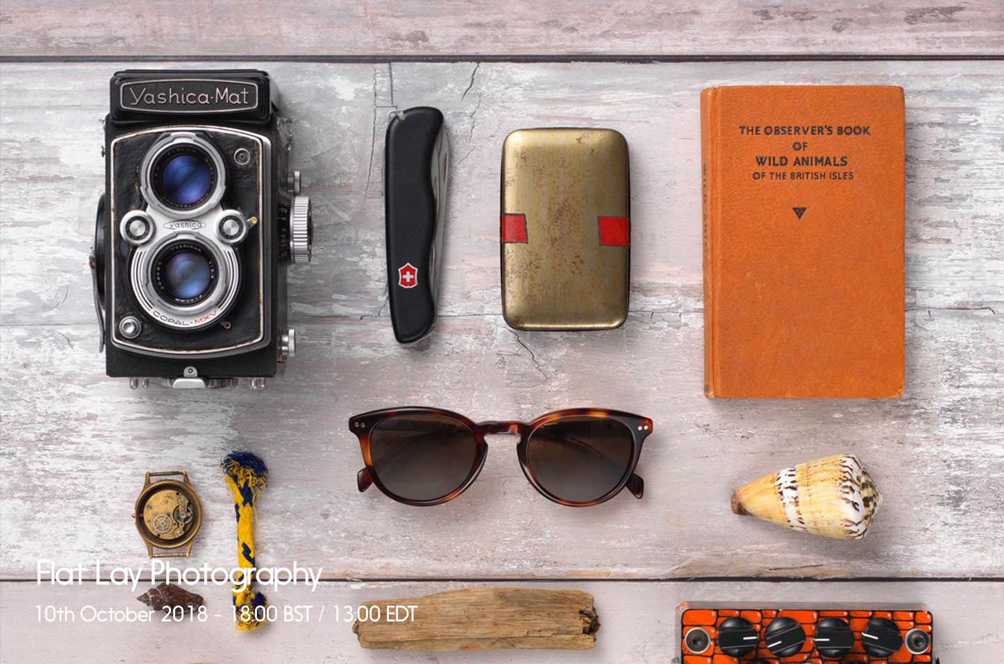 Live Workshop – Flat Lay Photography