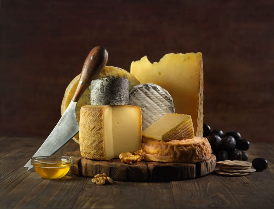 Cheese still life food photo