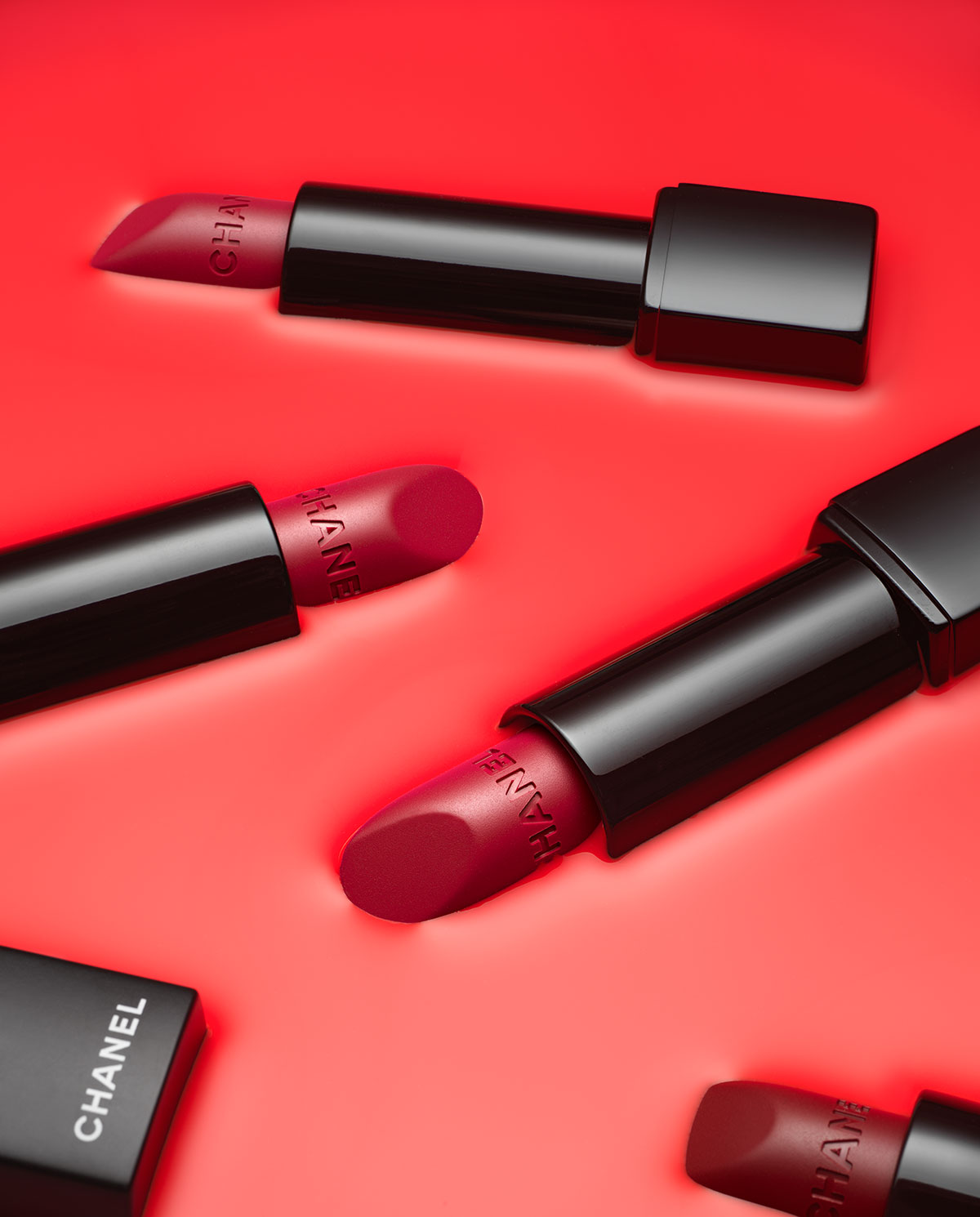 Chanel Lipstick Product photography by Karl Taylor