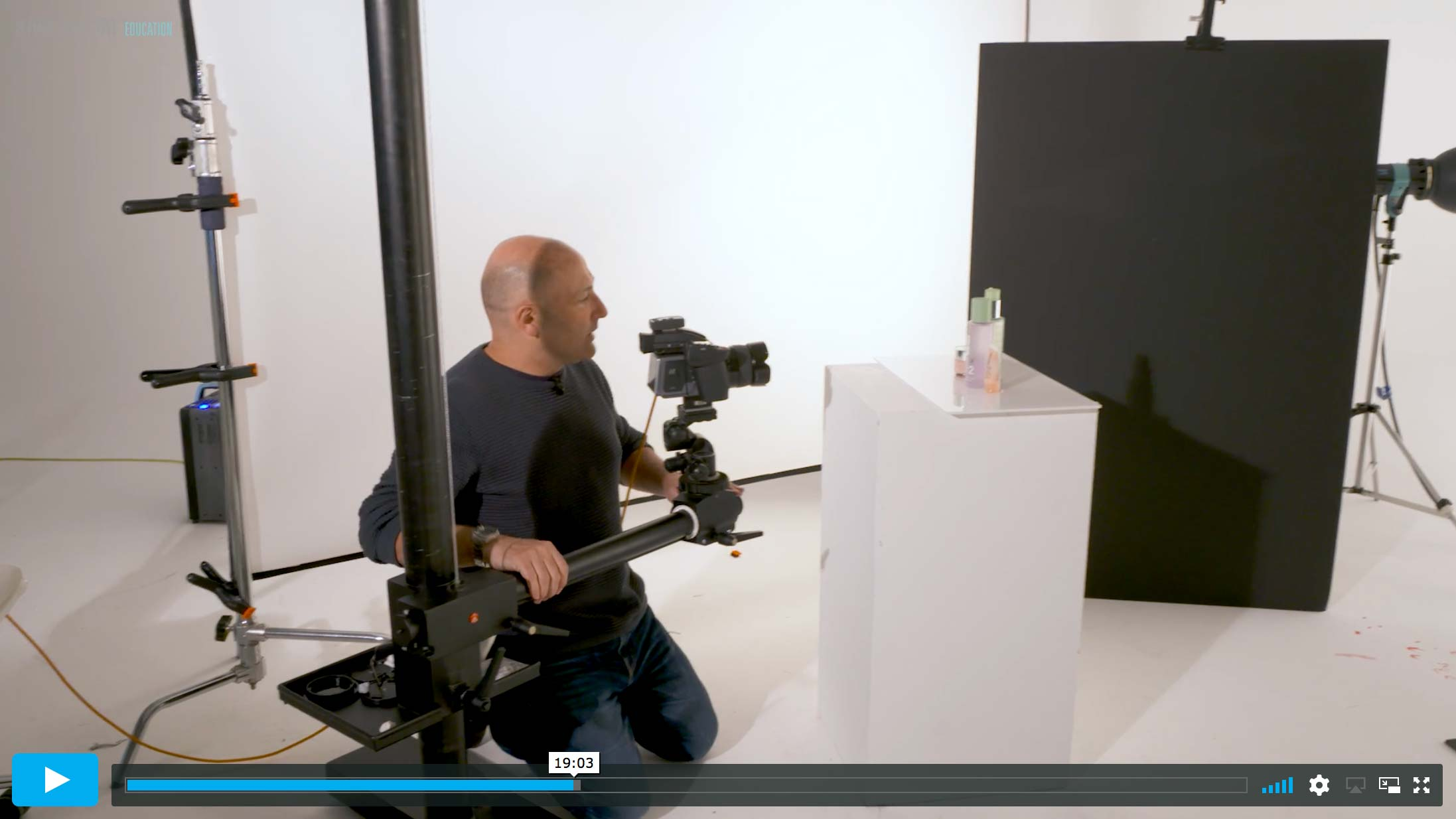 Clinique Style Advertising Shoot: Planning & Lighting (Part 1)