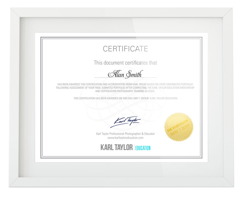 Join Karl Taylor Education  Master your photography passion