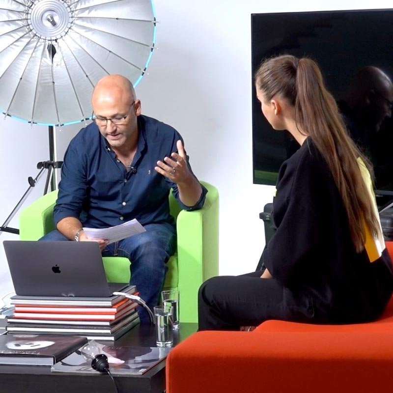 Live Photography show - Magazine chat show