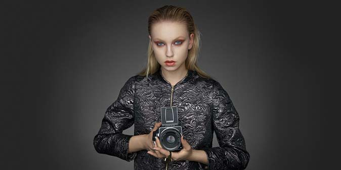 Photography Equipment, model with camera