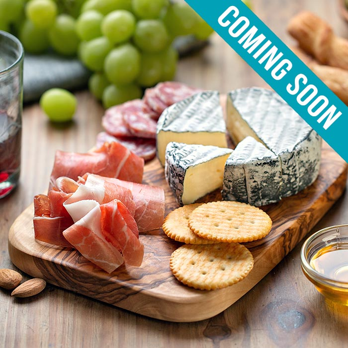 Food photography with natural light : Charcuterie Board