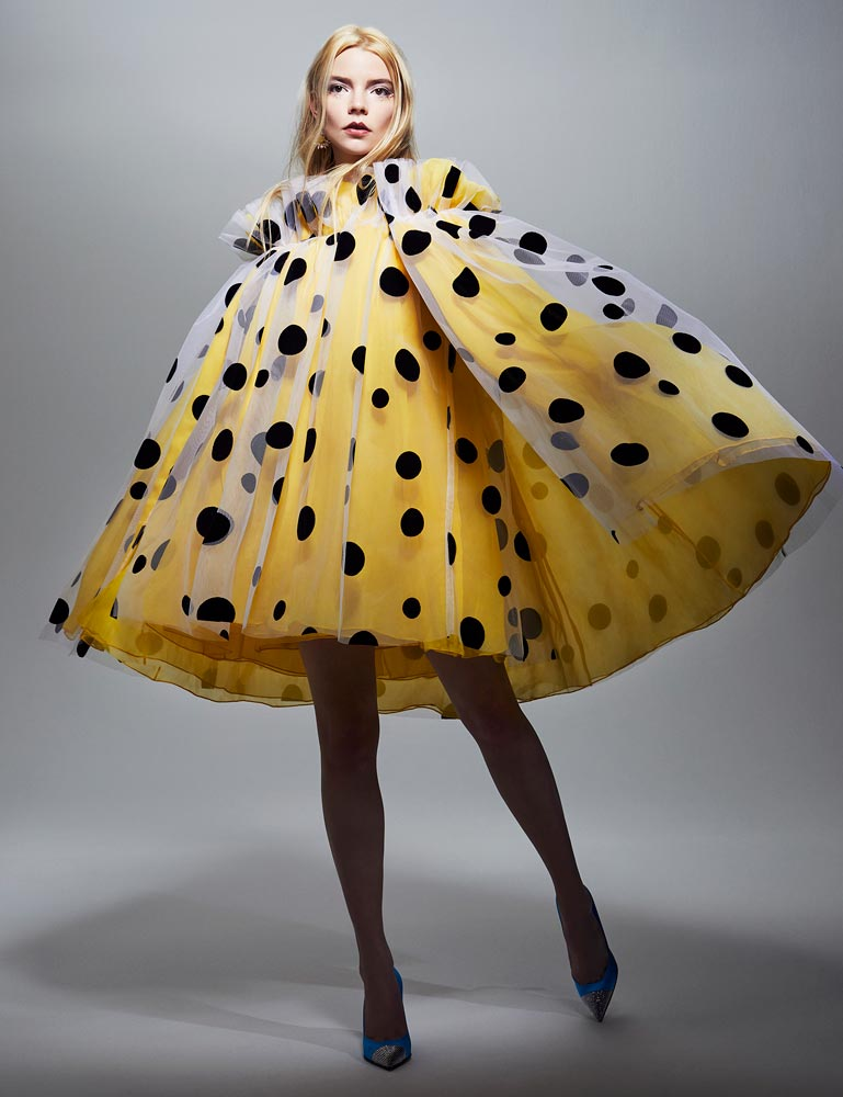 Model wearing yellow Fashion photography by Rachell Smith