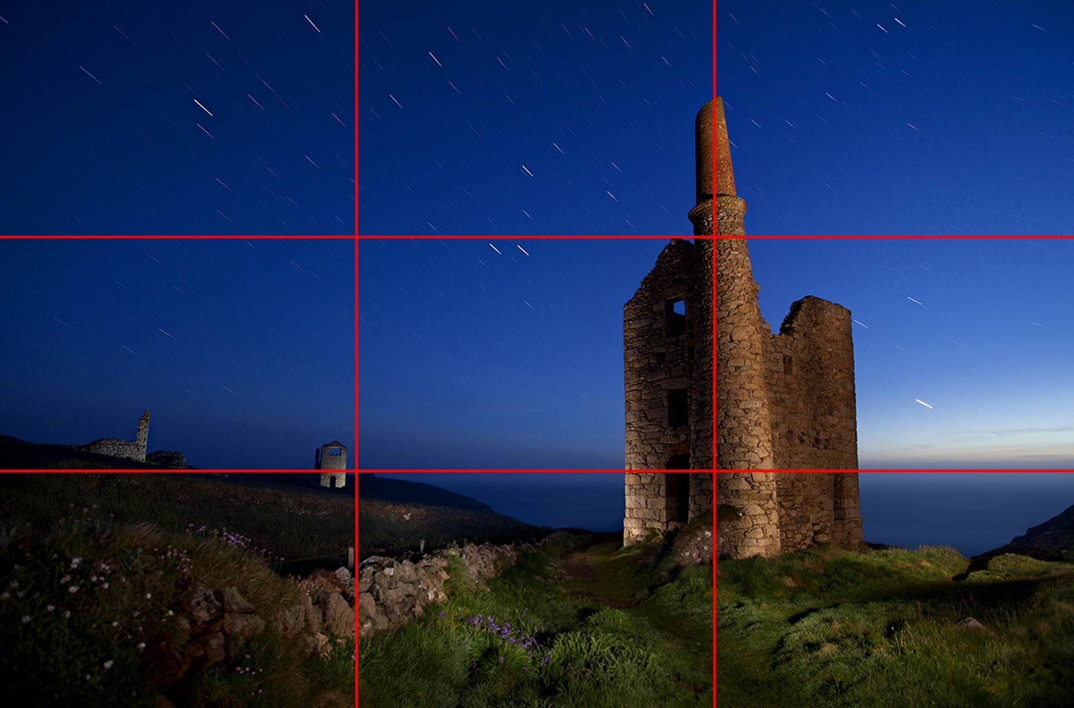 Rule of thirds example photograph