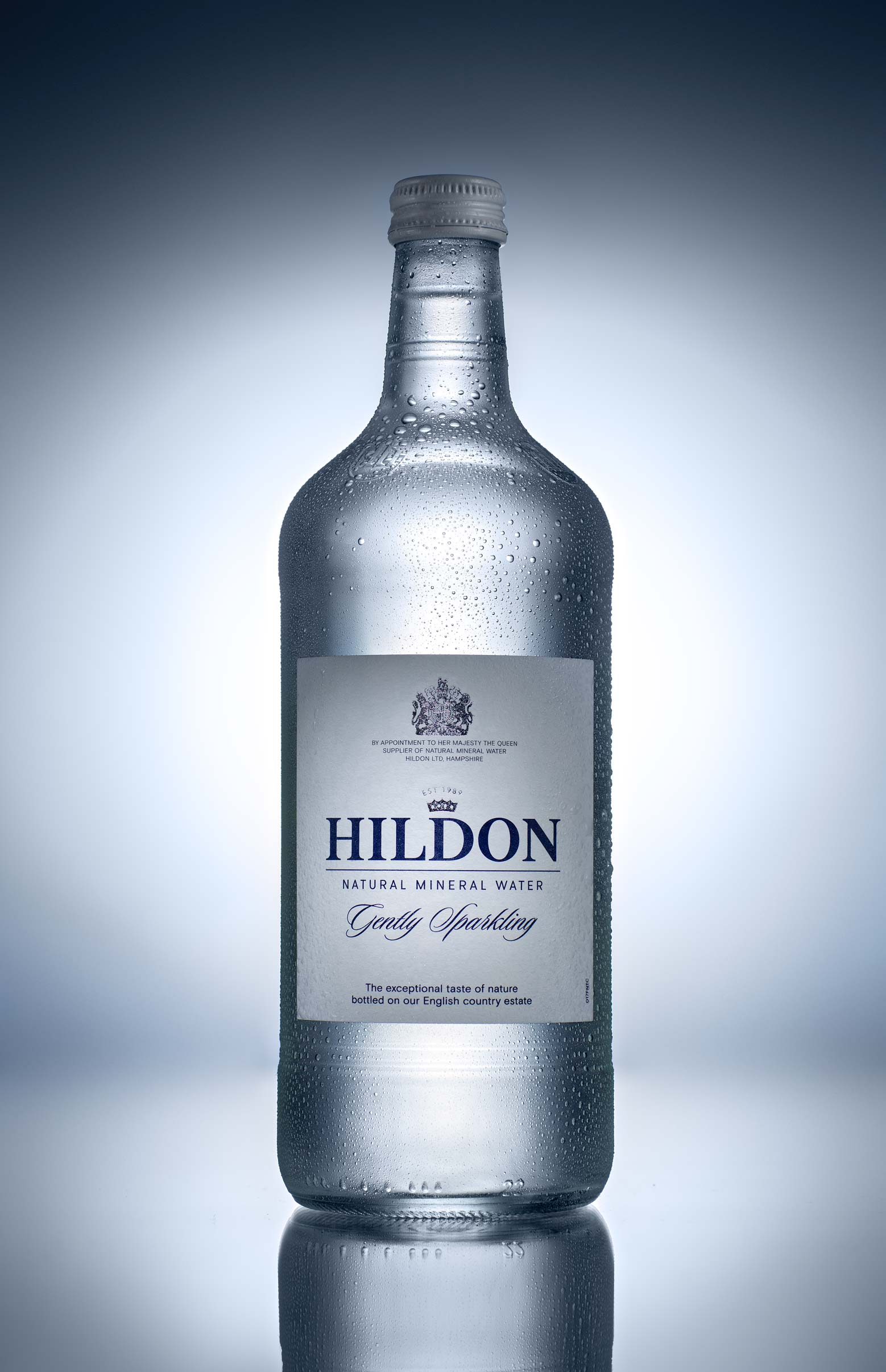 Hildon Mineral Water product photo using speedlights